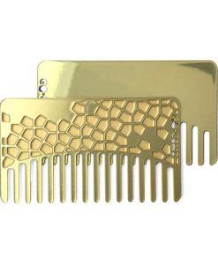 Go Comb Brass Tile Mirror